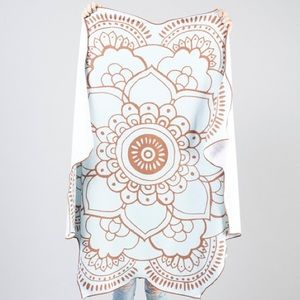 Fit Fab Fun Lotus Spa towel